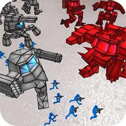火柴人大战机器人下载